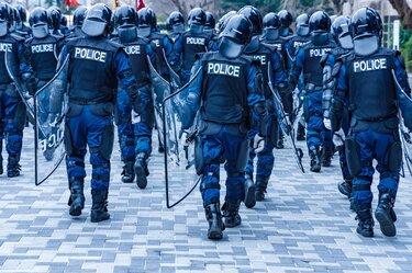 Mere Police Presence Deters Crime