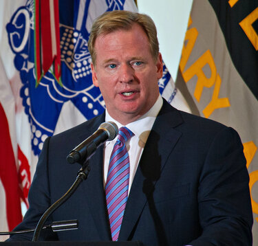 In 2016 Roger Goodell Was Not Supportive of Players Taking a Knee