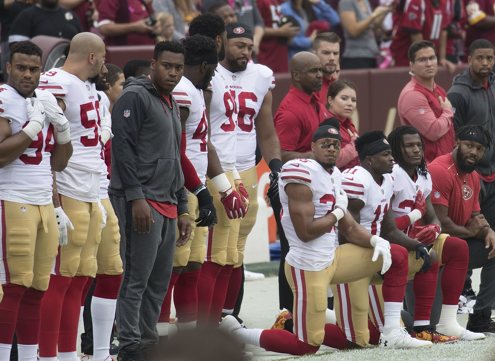 Kaepernick Was Not Being Unpatriotic When He Kneeled During the National Anthem