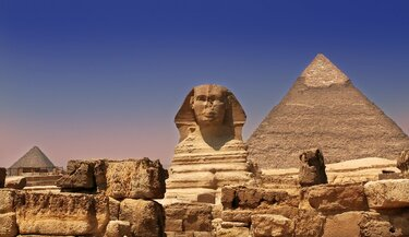 The Egyptian Pyramids Were Notable for their Architectural Feat