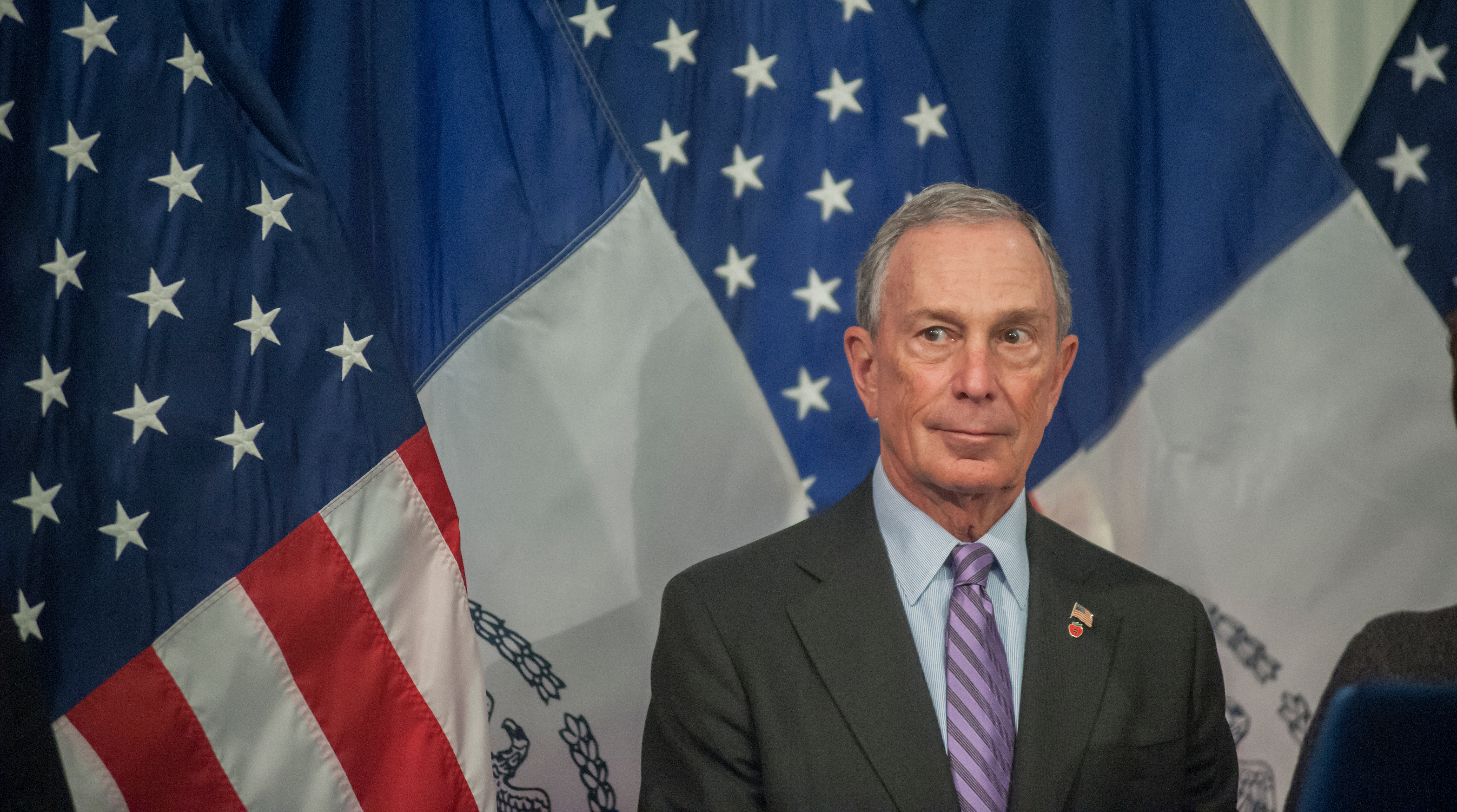 Mike Bloomberg supports gun reform even though he also supports the Second Amendment.