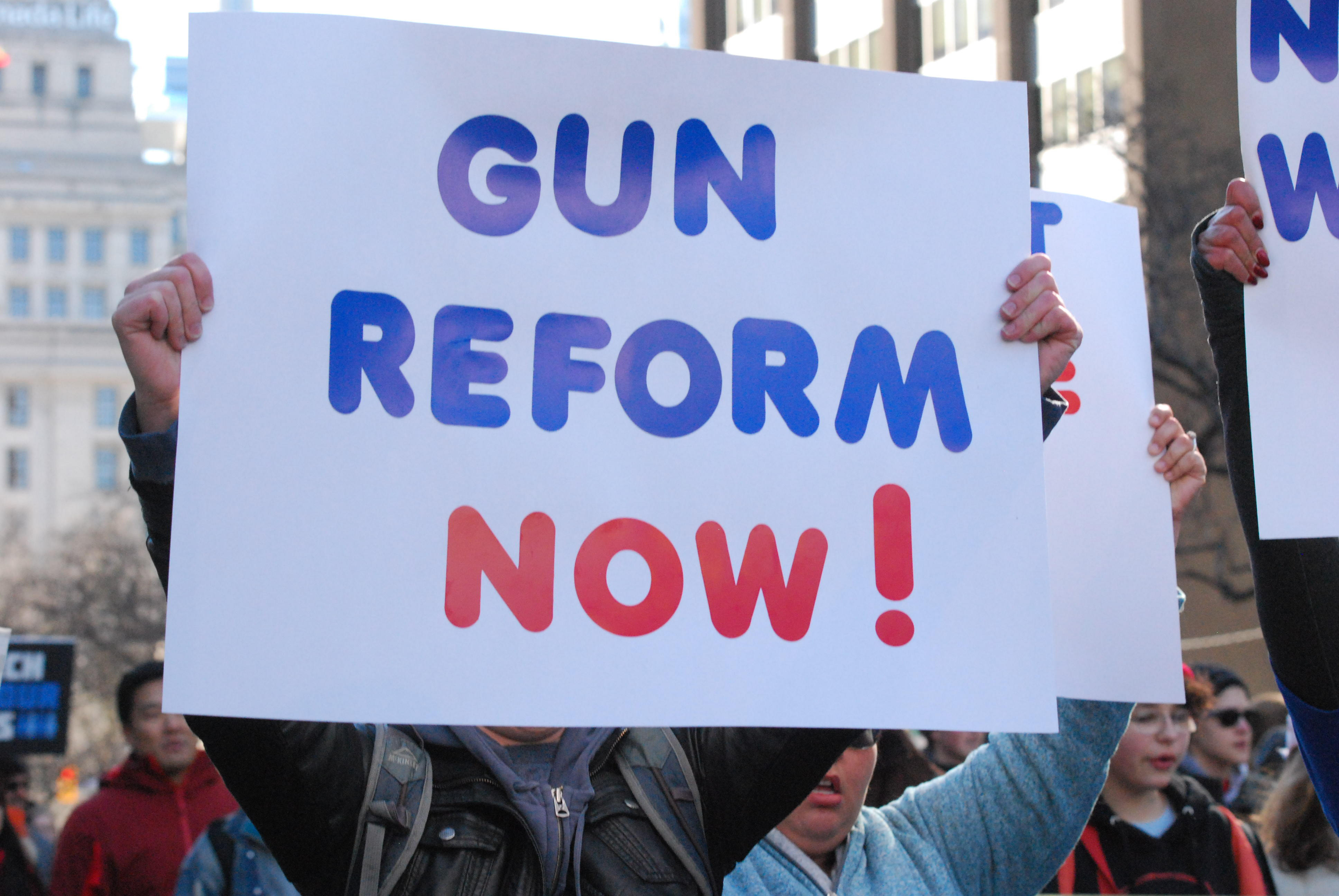 One of the 8 points in Everytown for Gun Safety's plan is to pass these laws