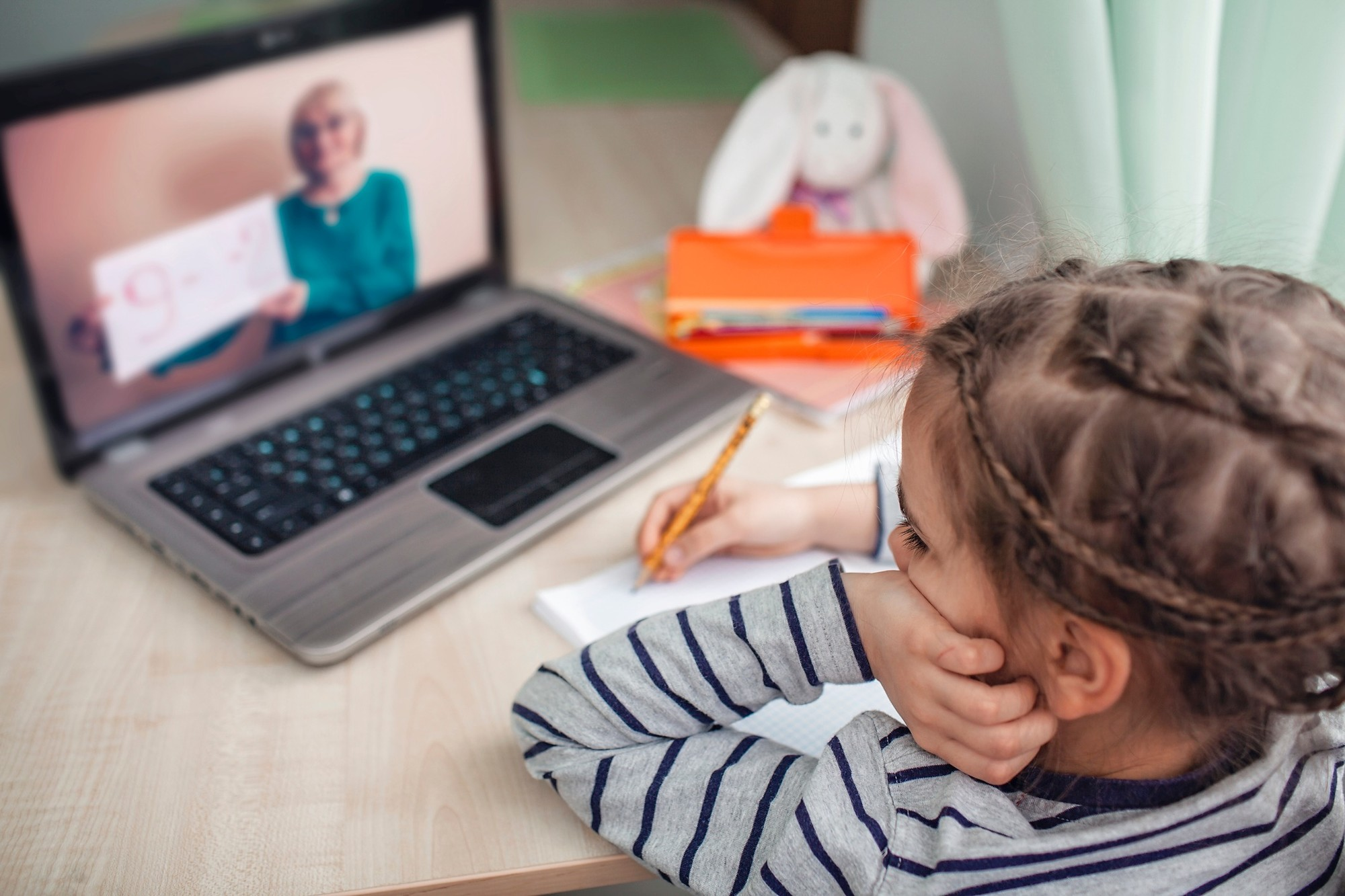 Children Spent Months Adjusting to Learning Online, Only to Abruptly Be Back in the Classroom