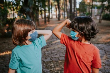 Children Can't Follow Social Distance Guidelines
