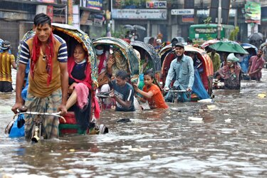 Bangladesh Is an Example of a Country with Extreme Cyclical Flooding